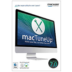 MacTuneUp 70 For Mac Traditional Disc
