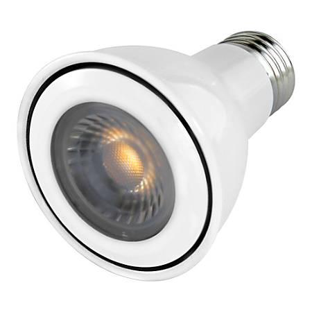 Euri Reflector Dimmable LED Bulbs, PAR20, 7 Watts, 3000 Kelvin/Warm White, 500 Lumens, Pack Of 6 Light Bulbs