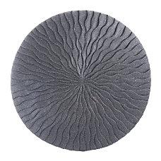 Zuo Modern Round Wave Plaque Medium