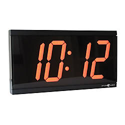 Pyramid 4 Digital Slave Clock For