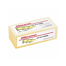 Office Depot Brand Self Stick Notes