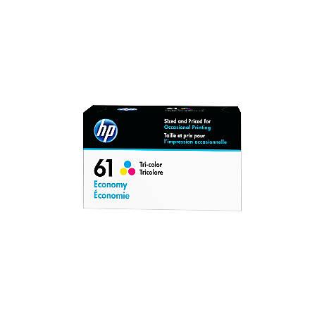 HP 61 Economy-Yield Tricolor Ink Cartridge (B3B08AN)