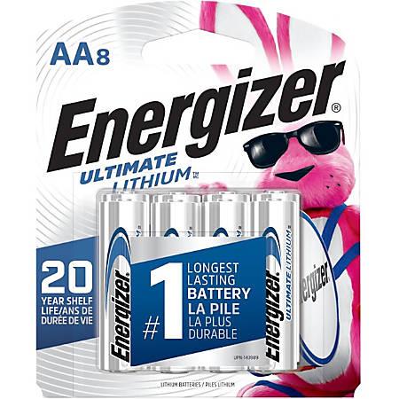 Energizer e2 L91SBP-8 Lithium Digital Camera Battery - Lithium (Li)