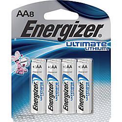 Energizer e2 L91SBP 8 Lithium Digital