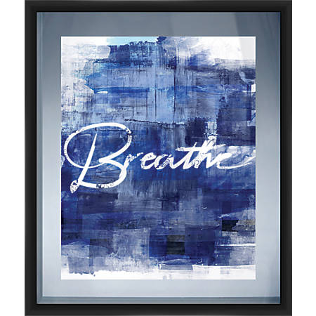 "PTM Images Framed Art, Breathe, 29 7/8""H x 25 7/8""W"