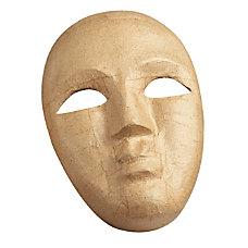 Pacon Paper Mache Mask Brown