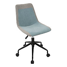 Lumisource Orzo Task Chair BlueGray with