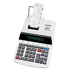 Canon MP27DII Printing Calculator Gray