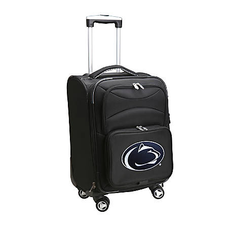 "Denco Sports Luggage Expandable Upright Rolling Carry-On Case, 21"" x 13 1/4"" x 12"", Black, Penn State Nittany Lions"