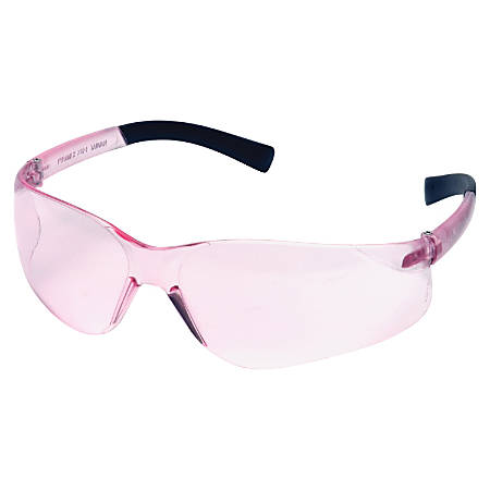 Uvex Impact Frameless Safety Eyewear, Pink Lens