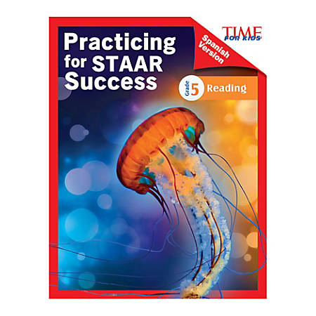 Shell Education TIME For Kids Practicing For STAAR Success: Reading, Level 5, Spanish, Grade 5