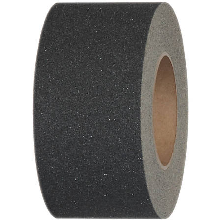 """Tape Logic® Antislip Tape, 3"""" Core, 3"""" x 60', Black"""