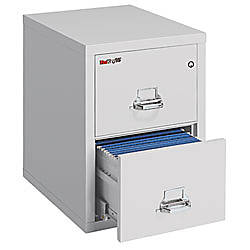 FireKing 25 Vertical File 2 Drawer