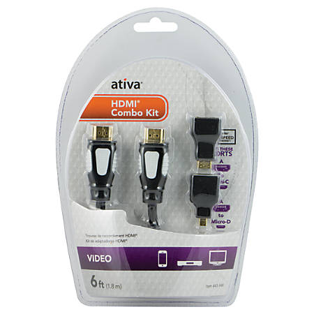 Ativa® HDMI Cable Kit