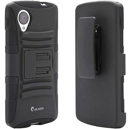 i-Blason Prime NEX5-PRIME-BLACK Carrying Case (Holster) Smartphone - Black