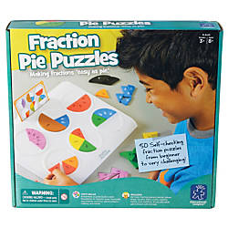 Learning Resources Fraction Pie Puzzles