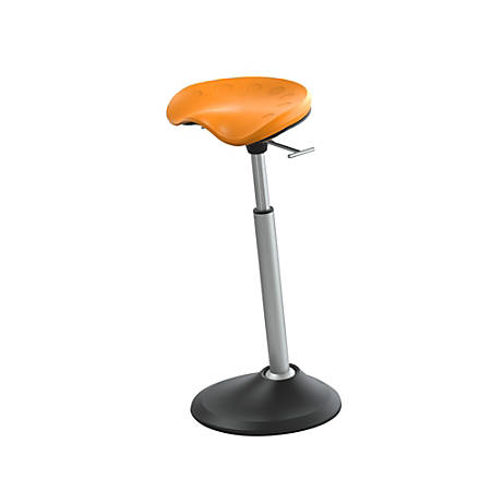 Safco® Active Focal Upright™ Mobis II Seat, Citrus Orange/Black/Gray