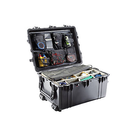 Pelican 1630NF Case without Foam, Black