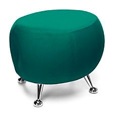 OFM Jupiter Series Stool GreenChrome