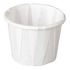 Genpak Squat Pleated Paper Portion Cups
