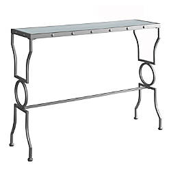 Monarch Specialties Console Table Metal With