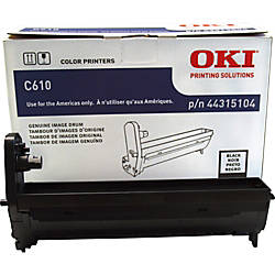 Oki Data 44315104 Black Drum Cartridge
