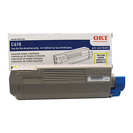 OKI® 44315301 Yellow Toner Cartridge