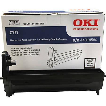 OKI - Black - drum kit - for C711cdtn, 711DM, 711dn, 711dtn, 711n, 711wt