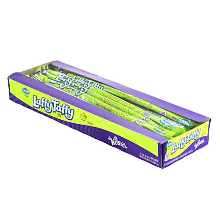 Laffy Taffy Ropes, Sour Apple, Tray Of 24