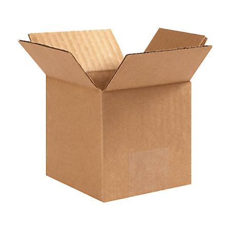 """Office Depot® Brand 40% Recycled Multipurpose Corrugated Box, 6"""" x 6"""" x 6"""""""