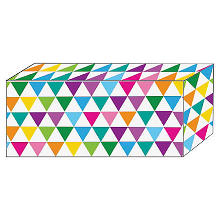 Ashley Color Triangle Design Magnetic Blocks - Heavy Duty - 5 / Pack - Multicolor