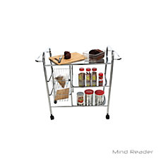 Mind Reader 3 Tier Metal Cart