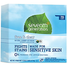 Seventh Generation 70 load Natural Laundry