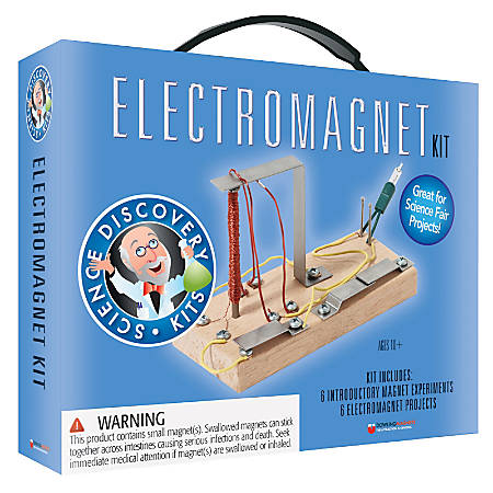 "Dowling Magnets Electromagnet Science Kit, 2 1/2""H x 8""W x 10 1/2""D, Grades 3-6"