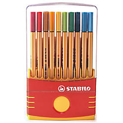 Stabilo Point 88 Pens Color Parade