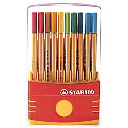 Stabilo Point 88 Pens Color Parade