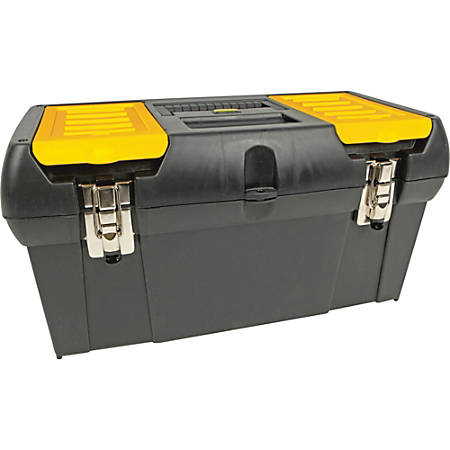 "Stanley® Bostitch® Tool Box With Tray, 9 3/4""H x 10 1/4""W x 19 1/4""D"