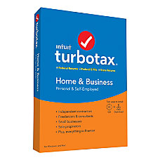 TurboTax 2019 Home Business Federal Efile