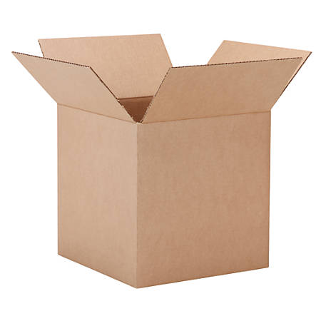 "Office Depot® Brand 40% Recycled Multipurpose Corrugated Box, 14"" x 14"" x 14"""