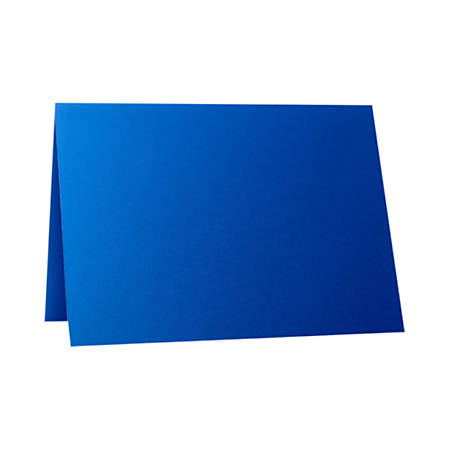 """LUX Folded Cards, A1, 3 1/2"""" x 4 7/8"""", Boutique Blue, Pack Of 500"""