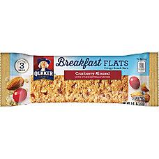 Quaker Oats Foods Breakfast Flats Crispy