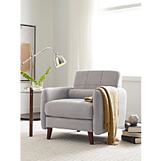 Serta Savanna Collection Arm Chair Smoke