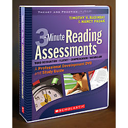 Scholastic DVD Series 3 Minute Reading