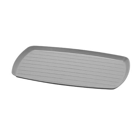 "Medline Bedside Service Trays, 6"" x 10"", Graphite, Pack Of 100"