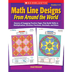 Scholastic Math Line Designs From Around