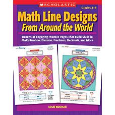 Scholastic Math Line Designs From Around