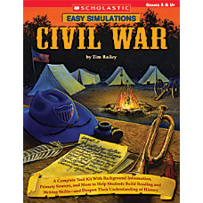 Scholastic Easy Simulations Civil War