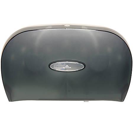 Georgia-Pacific Jumbo Jr. Bathroom Tissue Dispenser, Translucent Smoke
