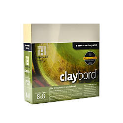 Ampersand Cradled Claybord 8 x 8