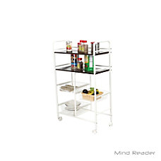 Mind Reader Stainless Steel Mobile Kitchen